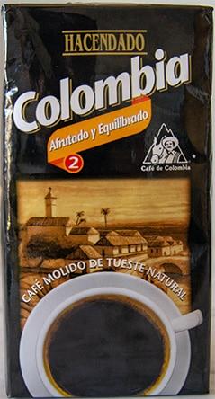 Paquete café molido Colombia Mercadona