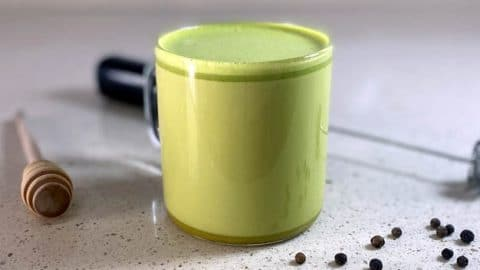 Receta de Cúrcuma y Matcha Latte