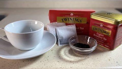 Receta de Té English Breakfast (Desayuno Inglés)