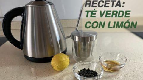 Té Verde con Limón Receta
