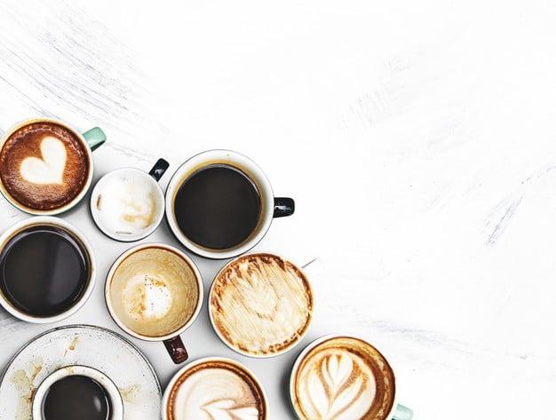 Portada de los tipos de café